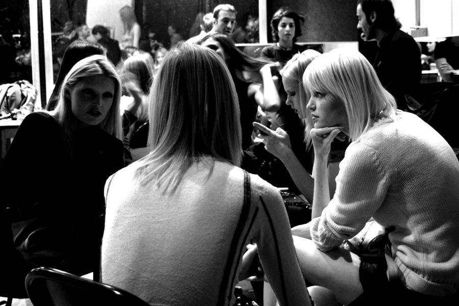 Backstage Donna
